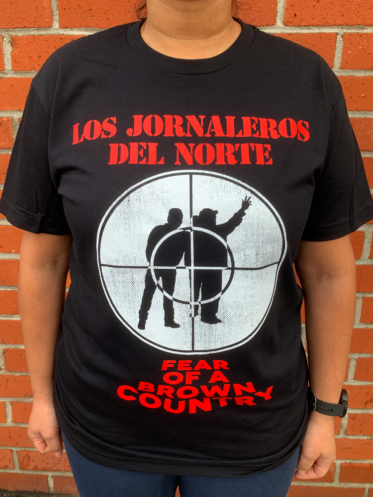 Image of Los Jornaleros del Norte - Fear of a Brown Country