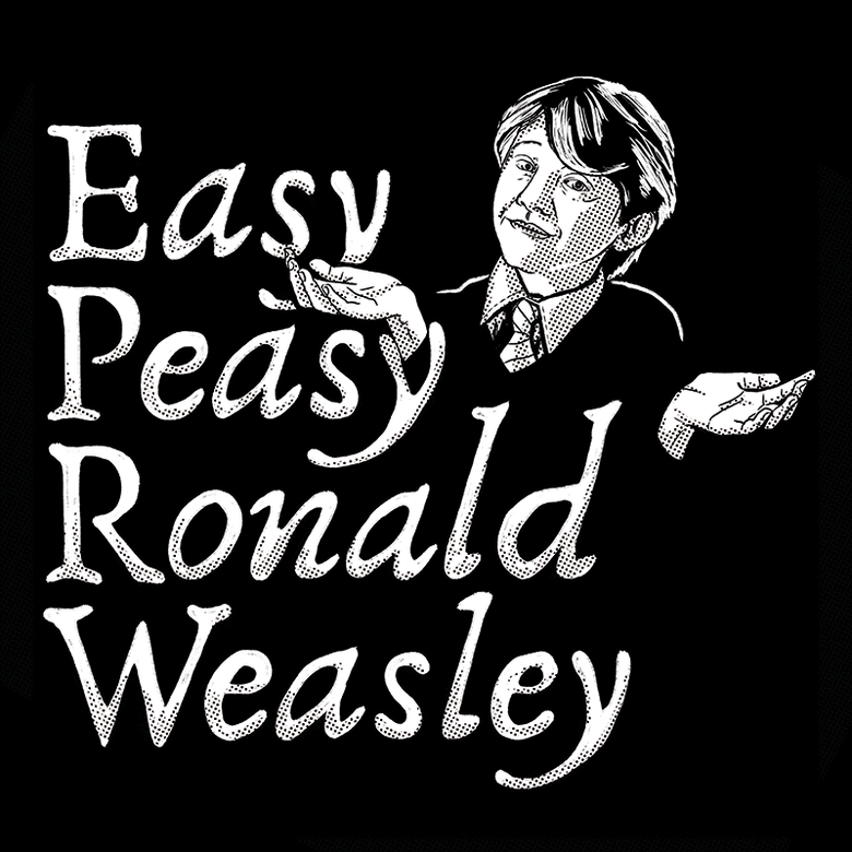 Image of Easy Peasy Ronald Weasley