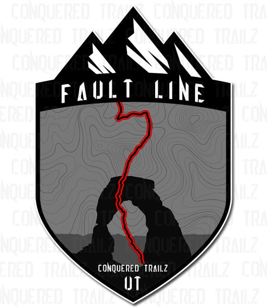"Image of ""Fault Line"" Trail Badge"