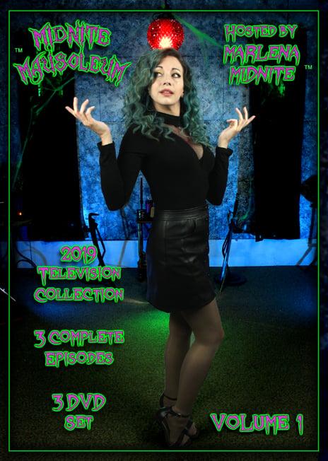 Image of Midnite Mausoleum 2019 volume 1 (3 DVD set)