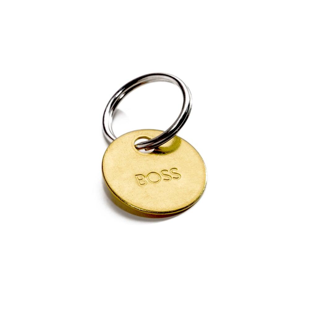 Image of BOSS KEY / SMALL BRASS KEYCHAIN