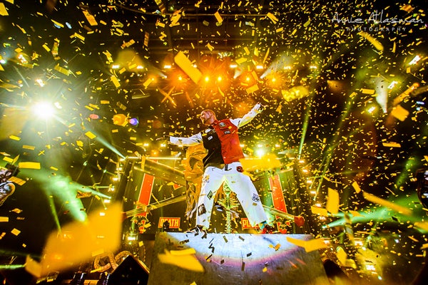 Image of Ivan of Five Finger Death Punch Confetti