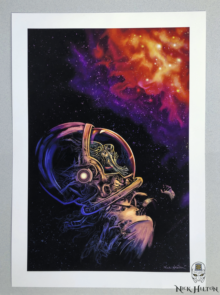 "Image of ""We Don't Need Eyes to See"" -Open Edition Print-"