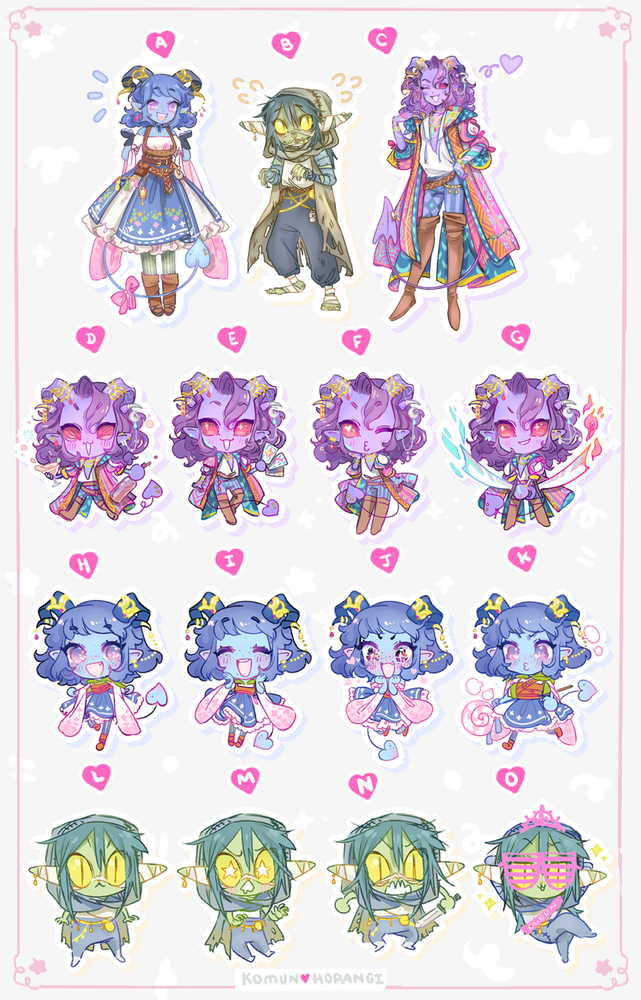 Image of New! CritRole stickers
