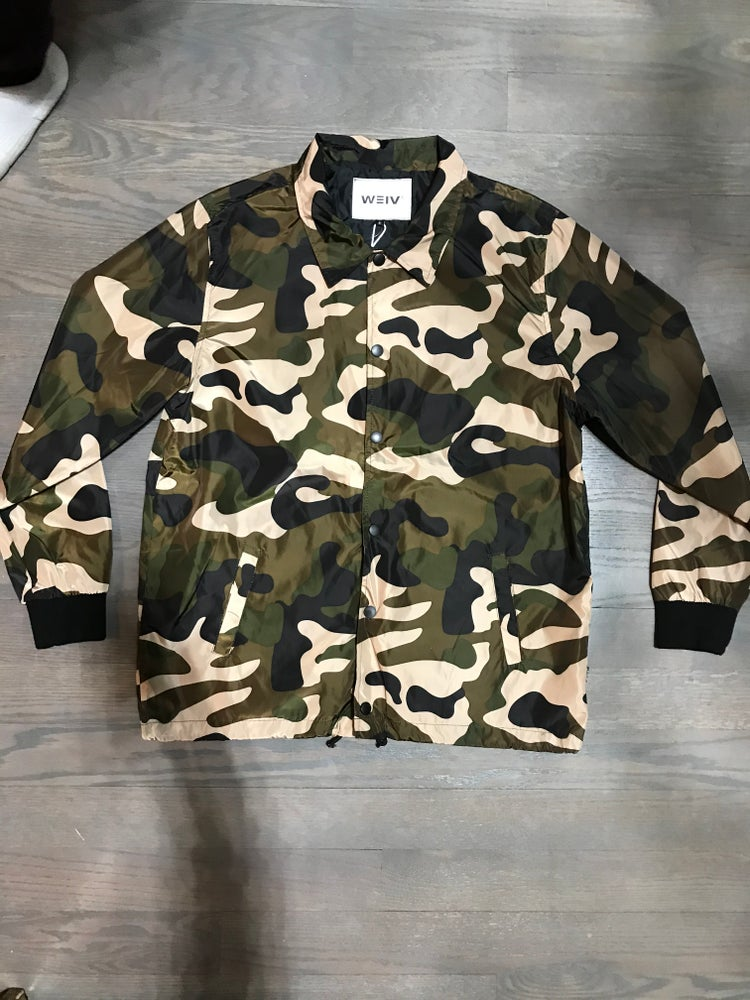 Image of Camo bomber