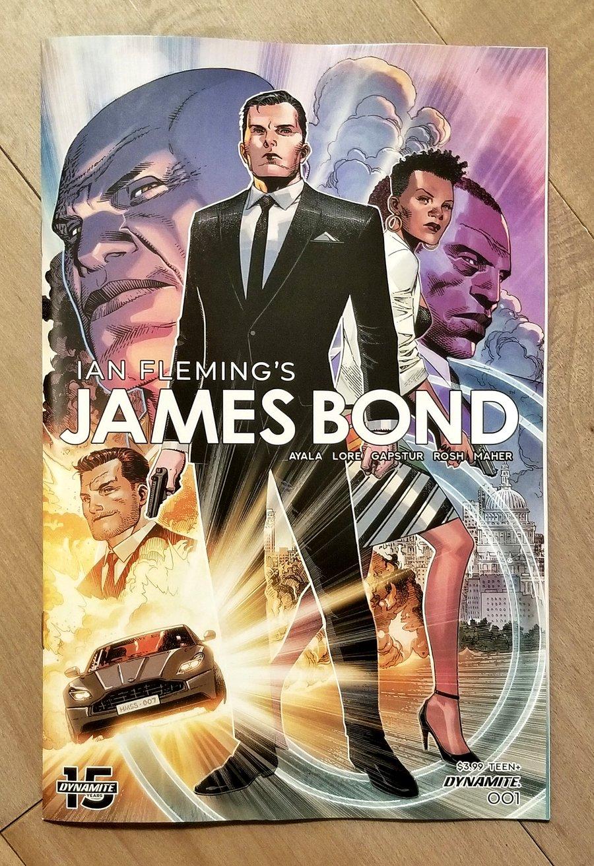 Image of JAMES BOND #1 Comic Set
