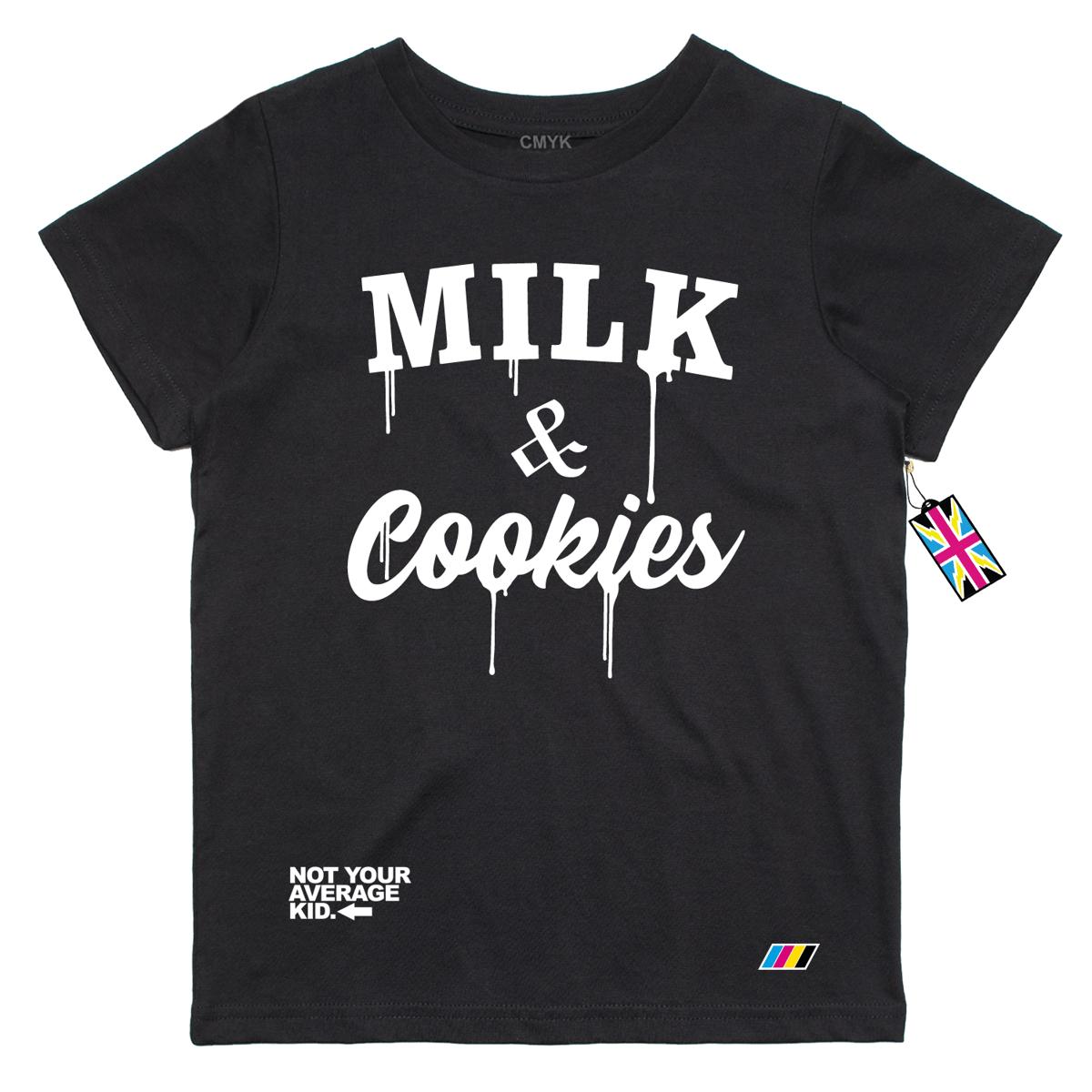 Image of Milk & Cookies Black T Shirt