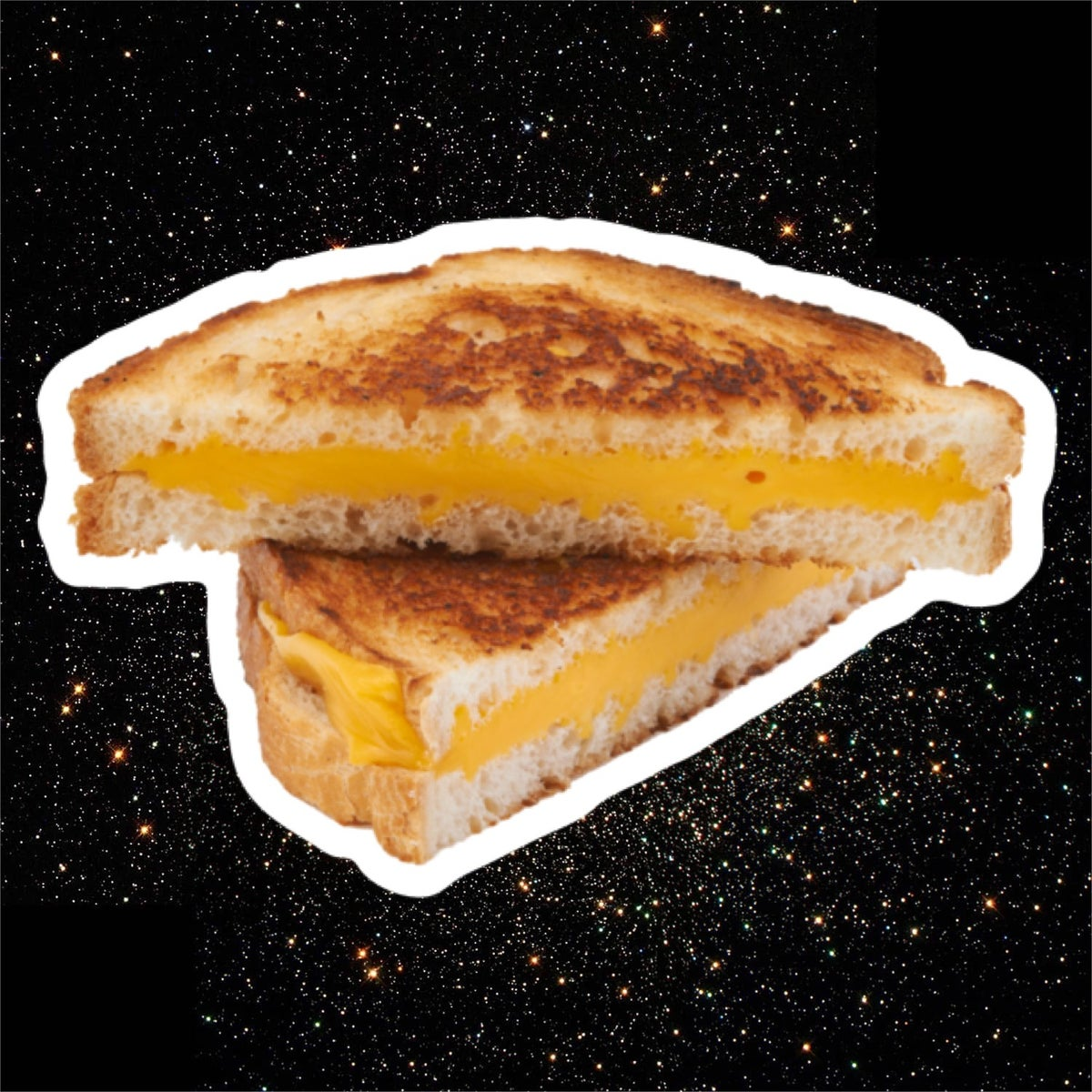 Lot Grilled Cheese Stickers!