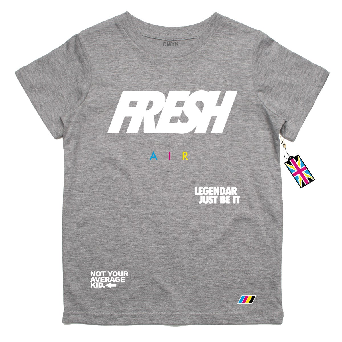 Image of Fresh Air- Grey T Shirt