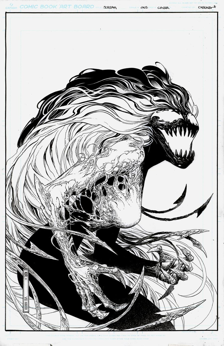 Image of SCREAM - CURSE OF CARNAGE #1 Cover