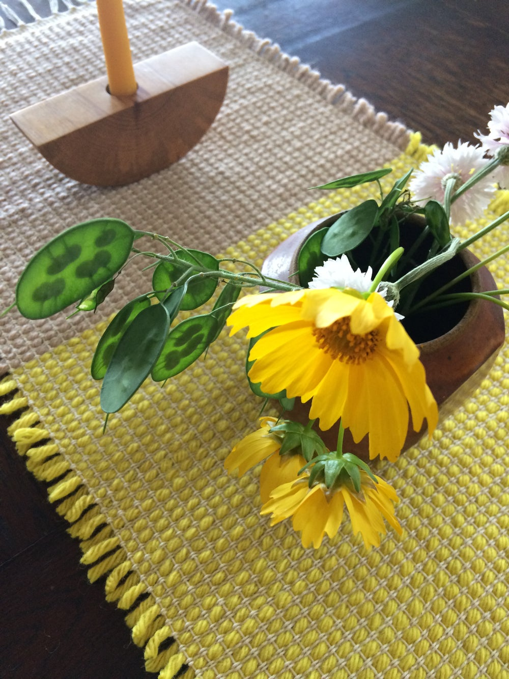 Image of Table Runner // Fawn & Lemon Yellow