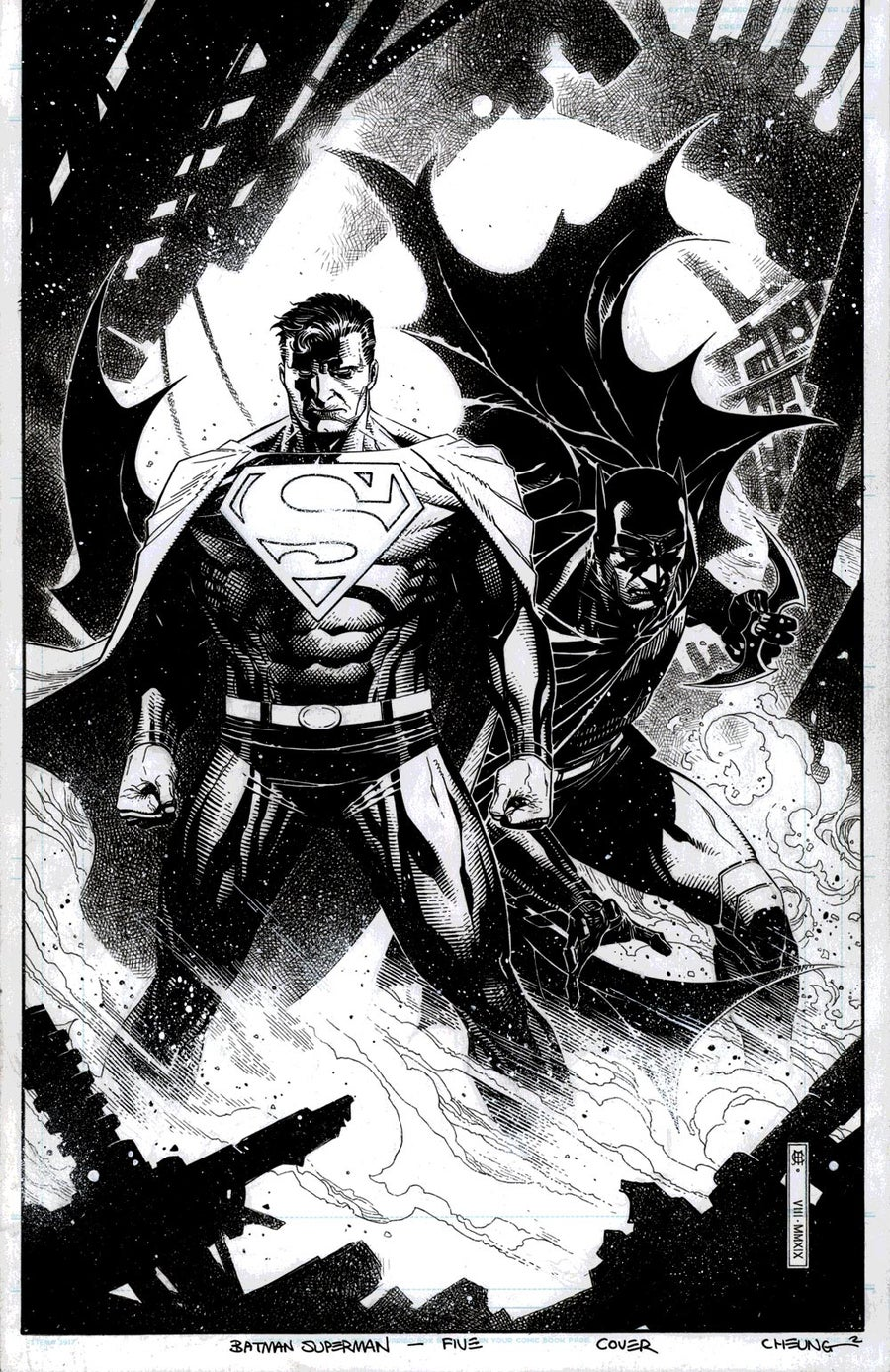 Image of BATMAN SUPERMAN #5 Variant Cover