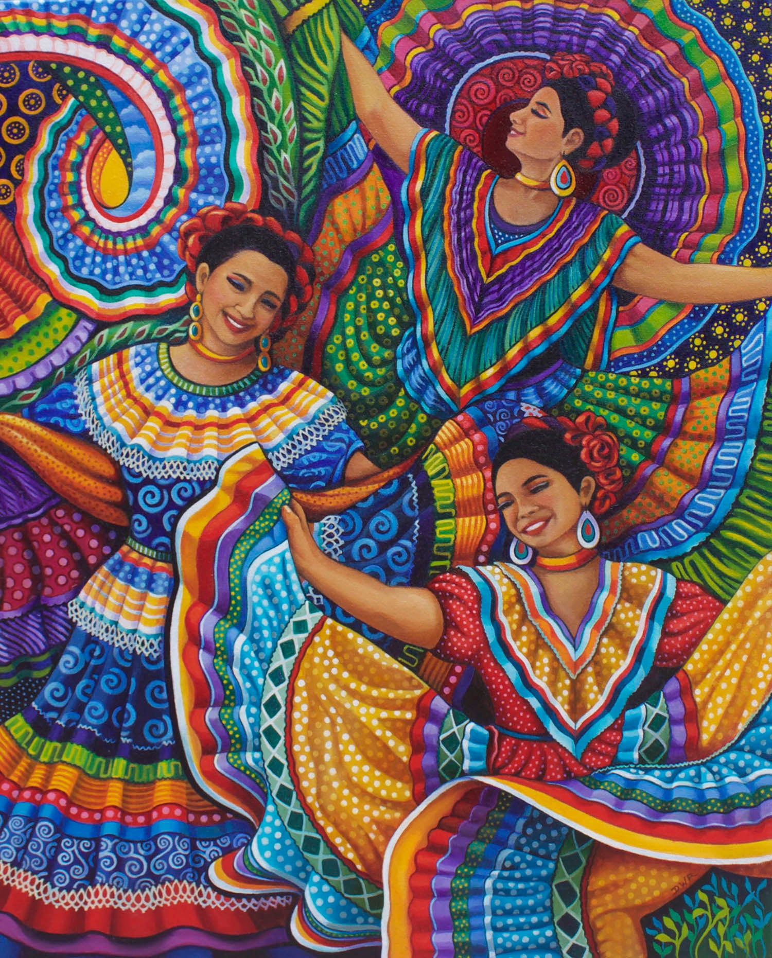 "Image of ""Mexican Folk Dancers"" Prints"