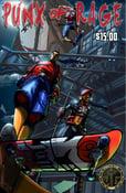 "Image of PUNXofRAGE  ""Off the Platform"" Physical Graphic Novel"