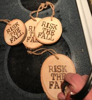 Image of Risk the Fall/JHPMA Tree Ornaments!