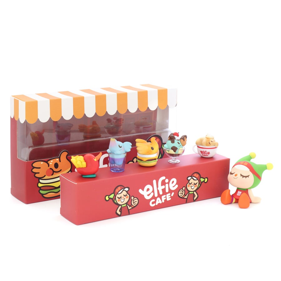 Image of ELFIE'S CAFE MINI FIGURE COMBO BOX SET