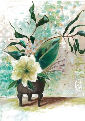 Image of Japanese Vase PRINT