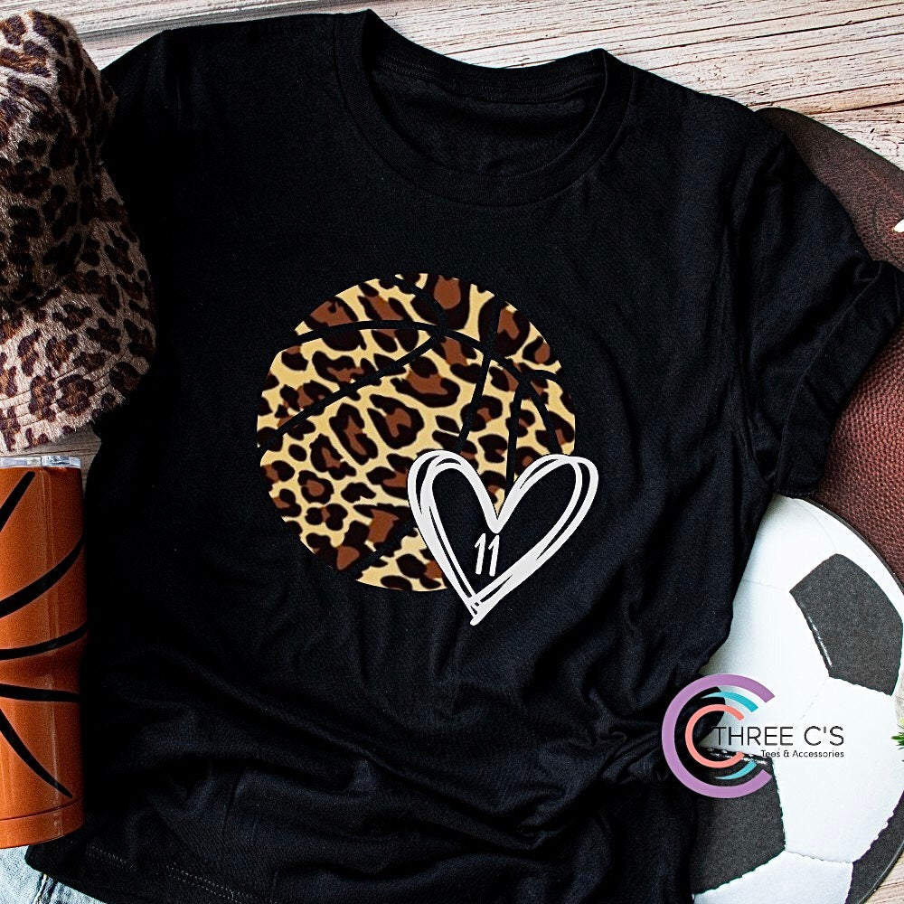 Image of Wild About Basketball Tee