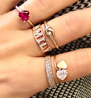 Image of Family and Love Rings