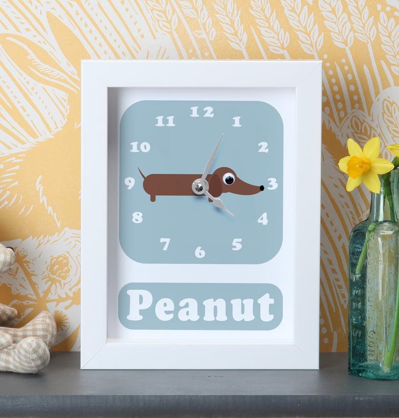 Image of Personalised Dog Clocks