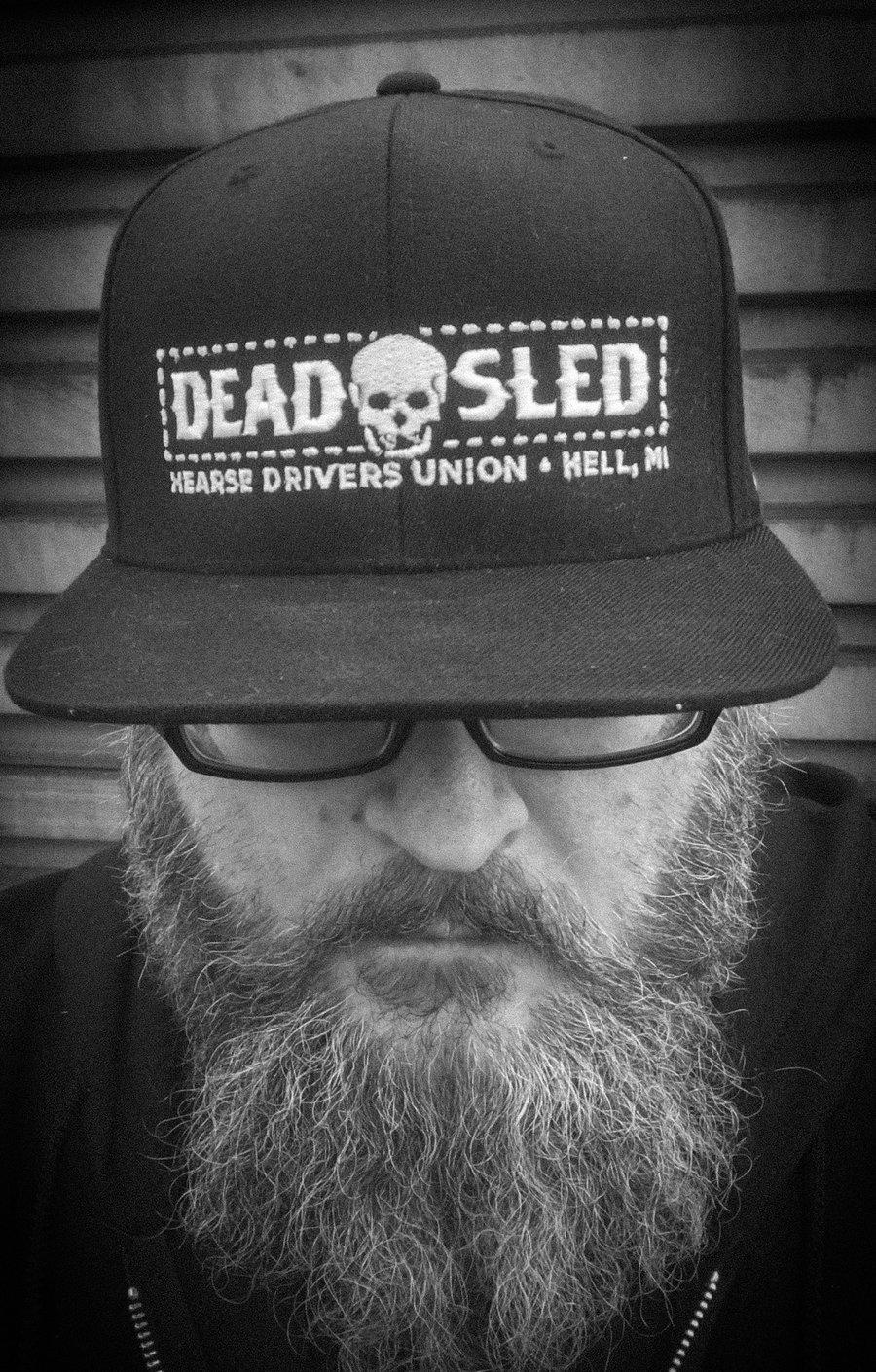 Image of Dead Sled Box Logo Snapback