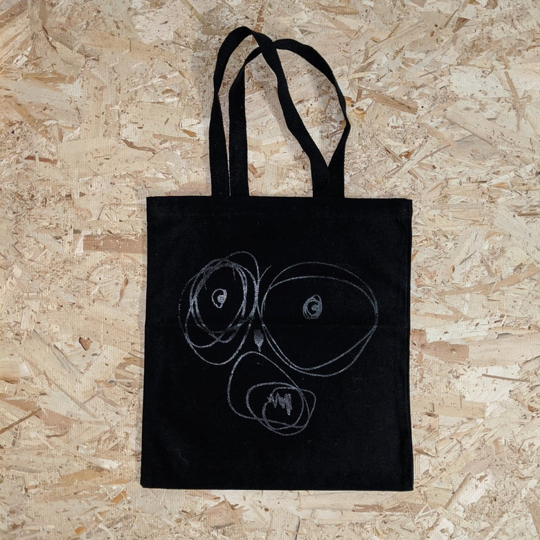 Image of OGSF Tote Bag [BLACK ON BLACK]