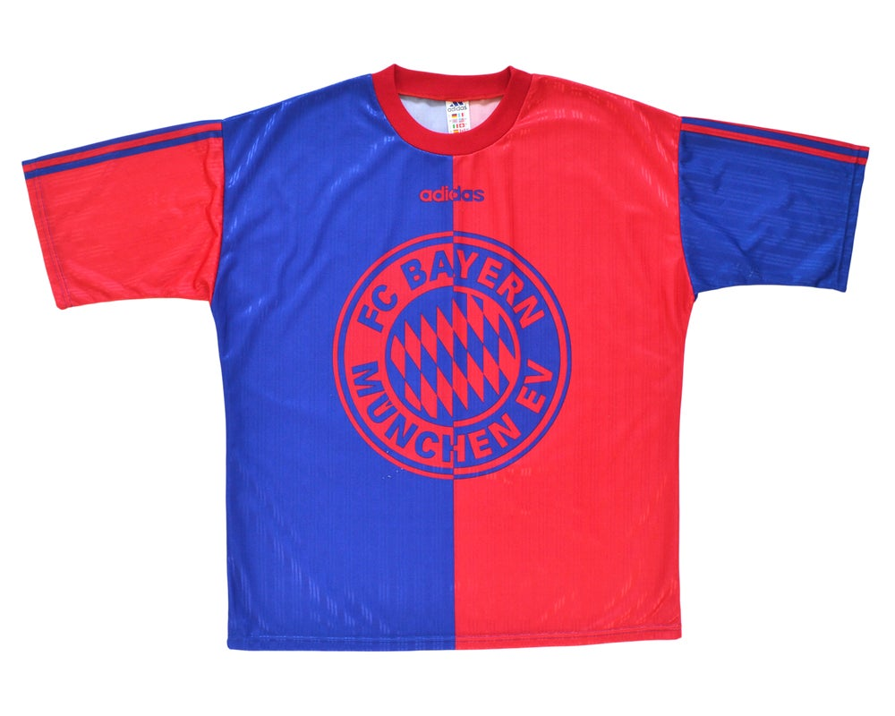 Image of 1996-97 Adidas Bayern Munich Training Shirt L