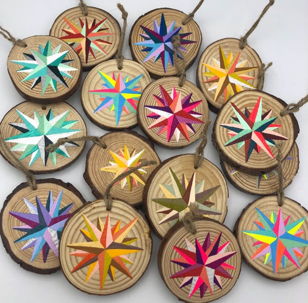 Image of Mini-Paintings / Ornaments!