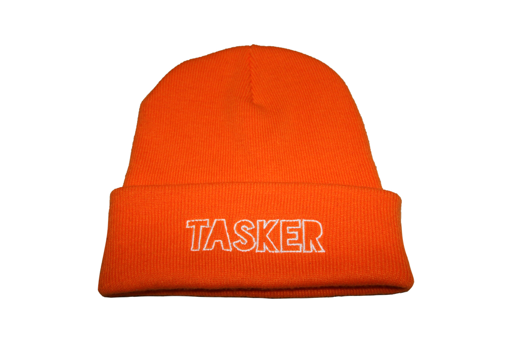 Image of Orange 'Tasker' Beanie