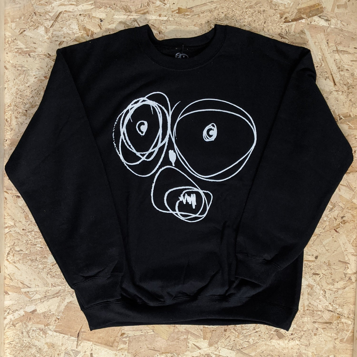 Image of OGSF [WHITE ON BLACK Sweater]
