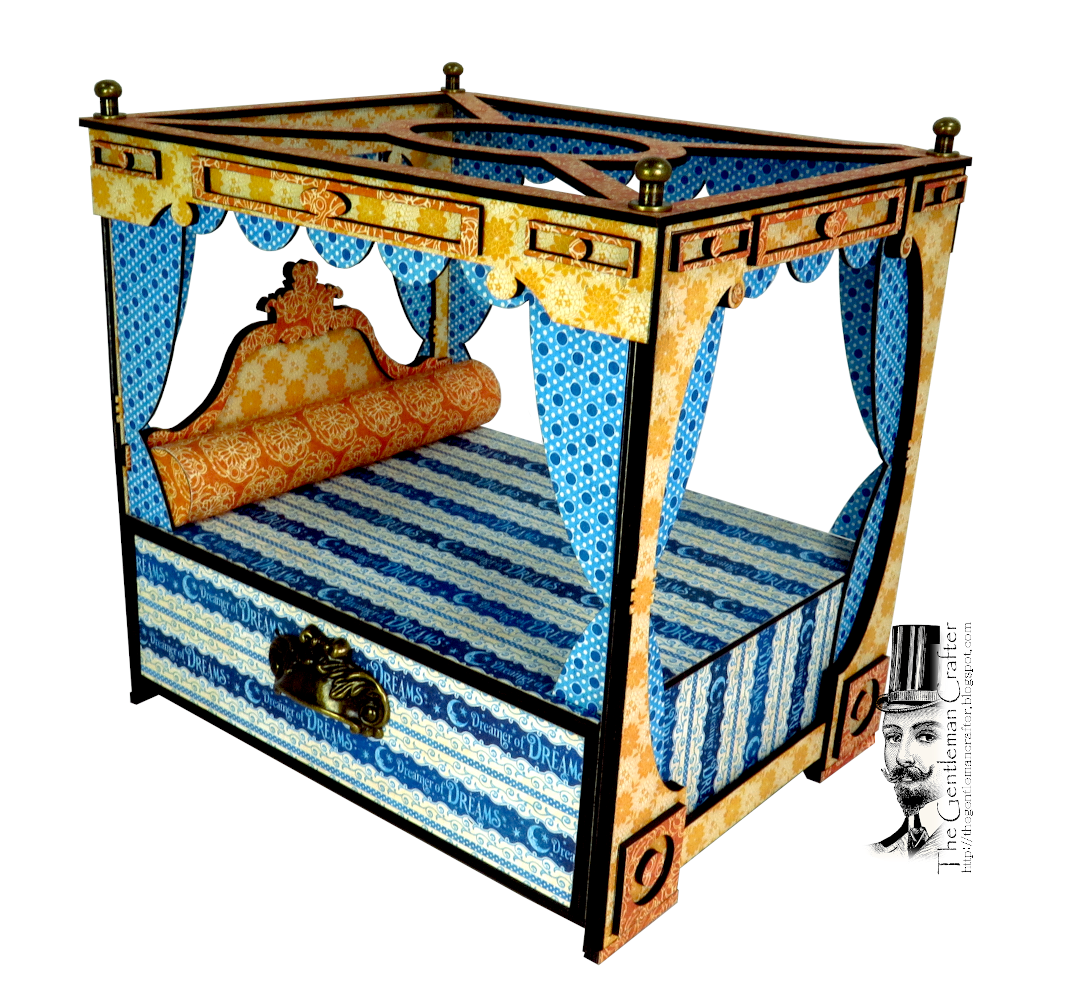 Image of The Dreamy Canopy Bed and Mini