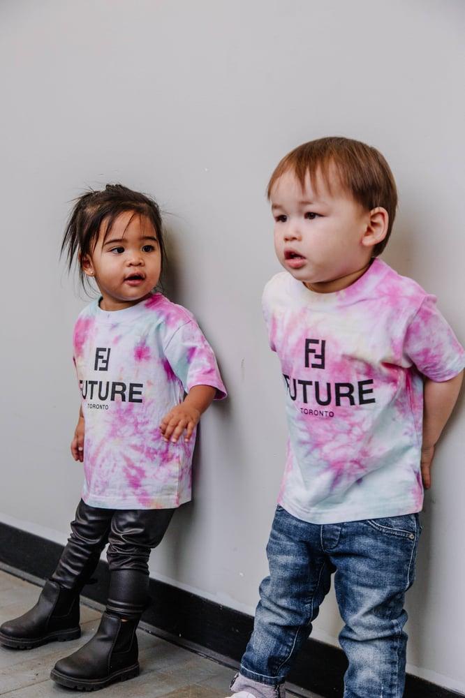Image of BF x NTM Kids Tie-Dye T-shirt
