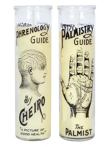 Image of PHRENOLOGY/PALMISTRY Glass Candle