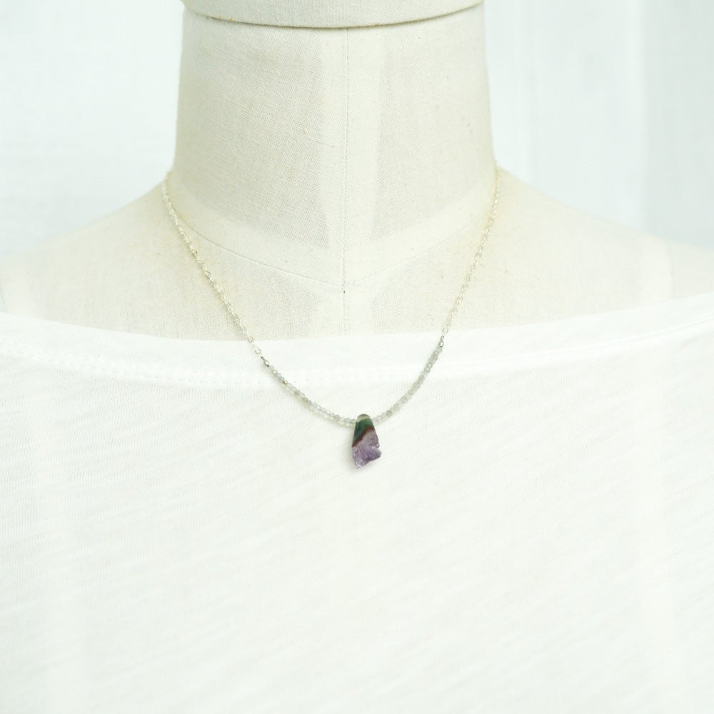 Image of Amethyst Geode Necklace