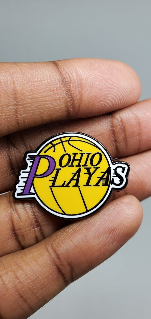 Image of OHIO PLAYAS Pin