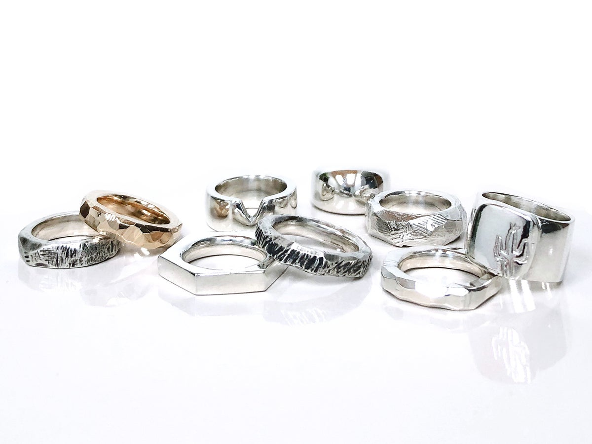 Image of WORKSHOP: make your own ring @ Good Mood Brewery Jan 18