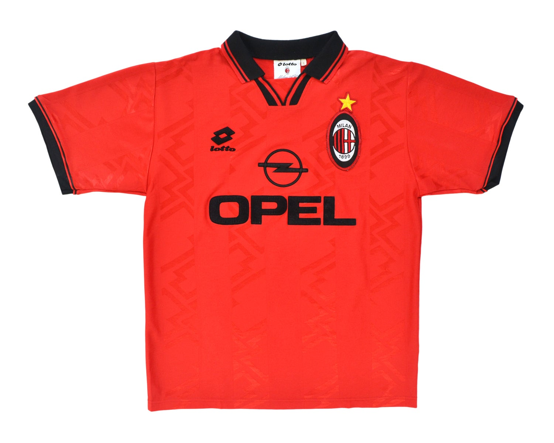 Image of 1996-97 Lotto AC Milan 4th Shirt L