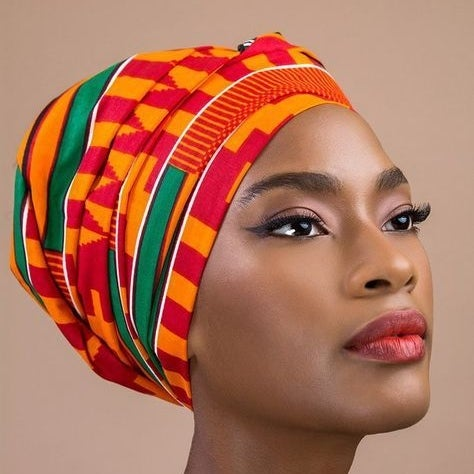 Image of African Style Headwrap