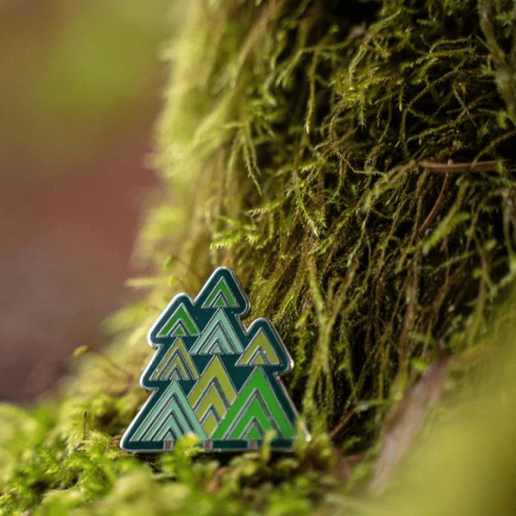 Image of Tree Friend Enamel Pin