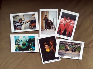 Image of Ricky Powell POSTCARD SET LIMITED EDITION WITHOUT slipcase