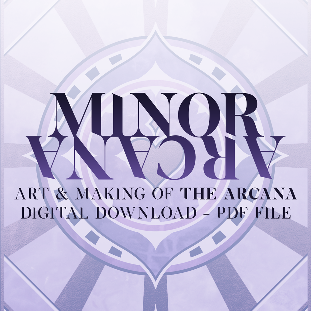 Image of Minor Arcana - The Art of 'The Arcana' (PDF ONLY)