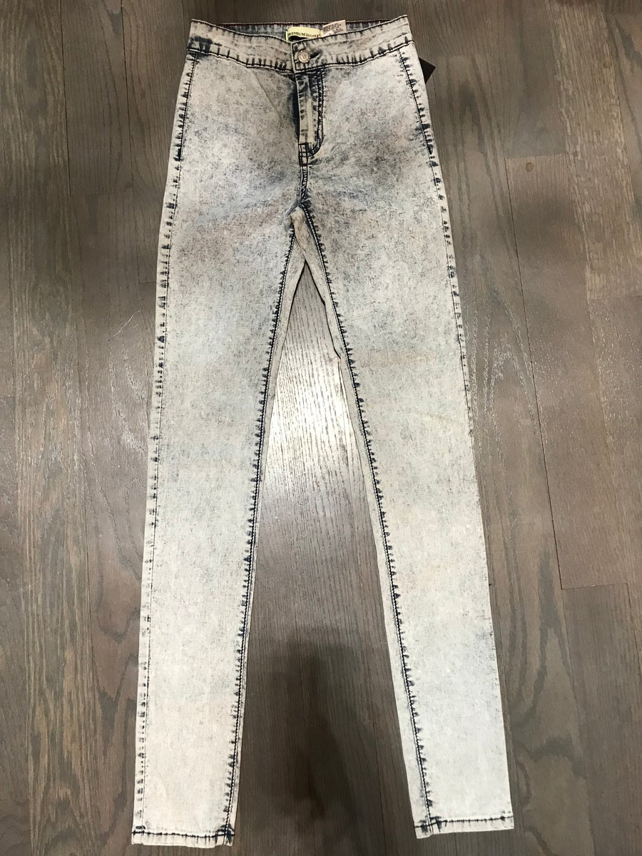Image of HIGH WAIST JEANS