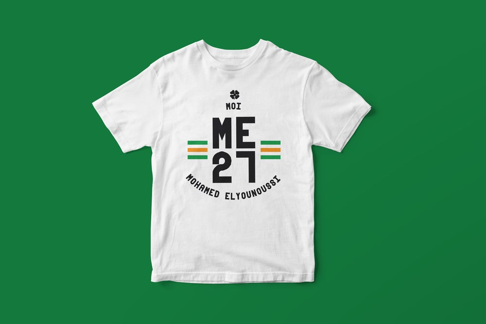 Image of Mohamed Elyounoussi 27 t-shirt