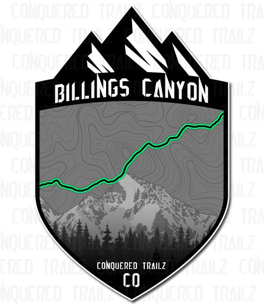 "Image of ""Billings Canyon"" Trail Badge"