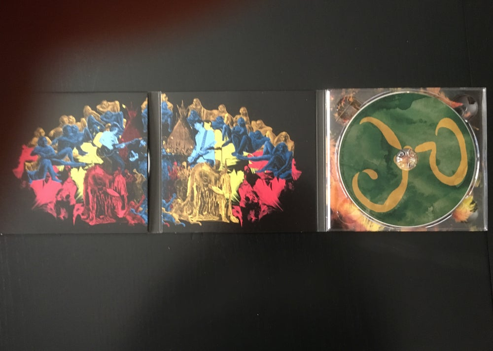 Image of FEATHERS reissue CD with bonus disk