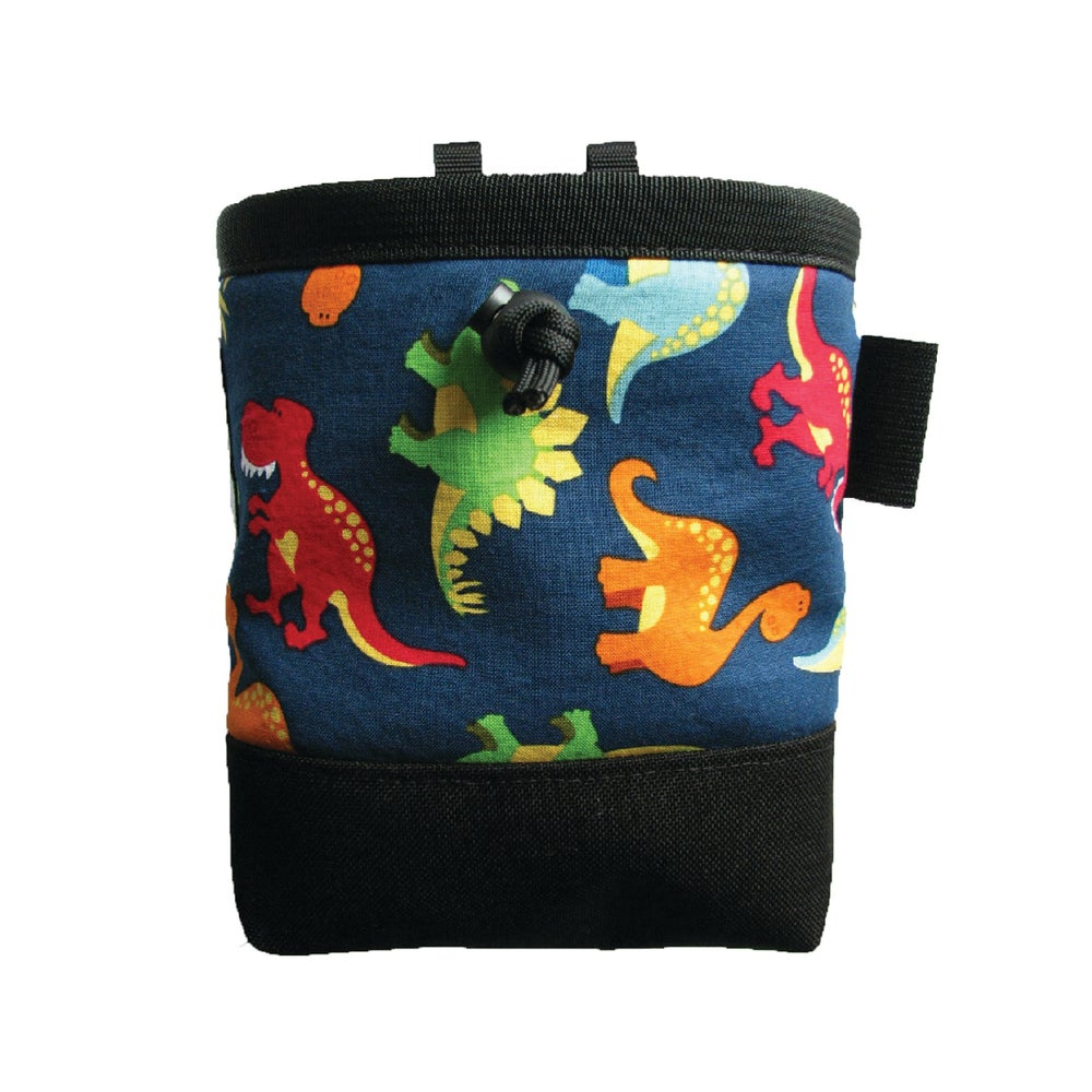 Dinosaurs Chalk Bags (pattern options)