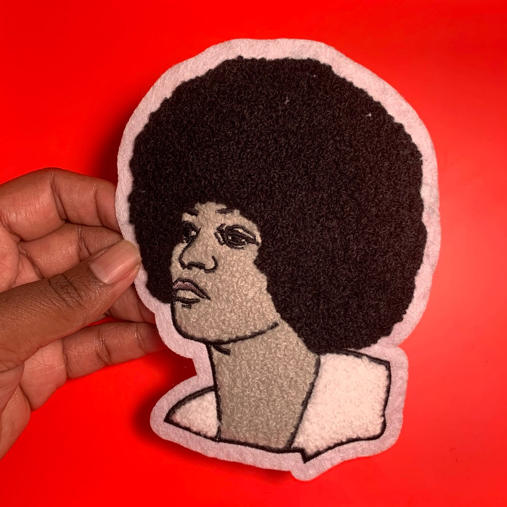 Image of Angela Davis Iron-on Patch