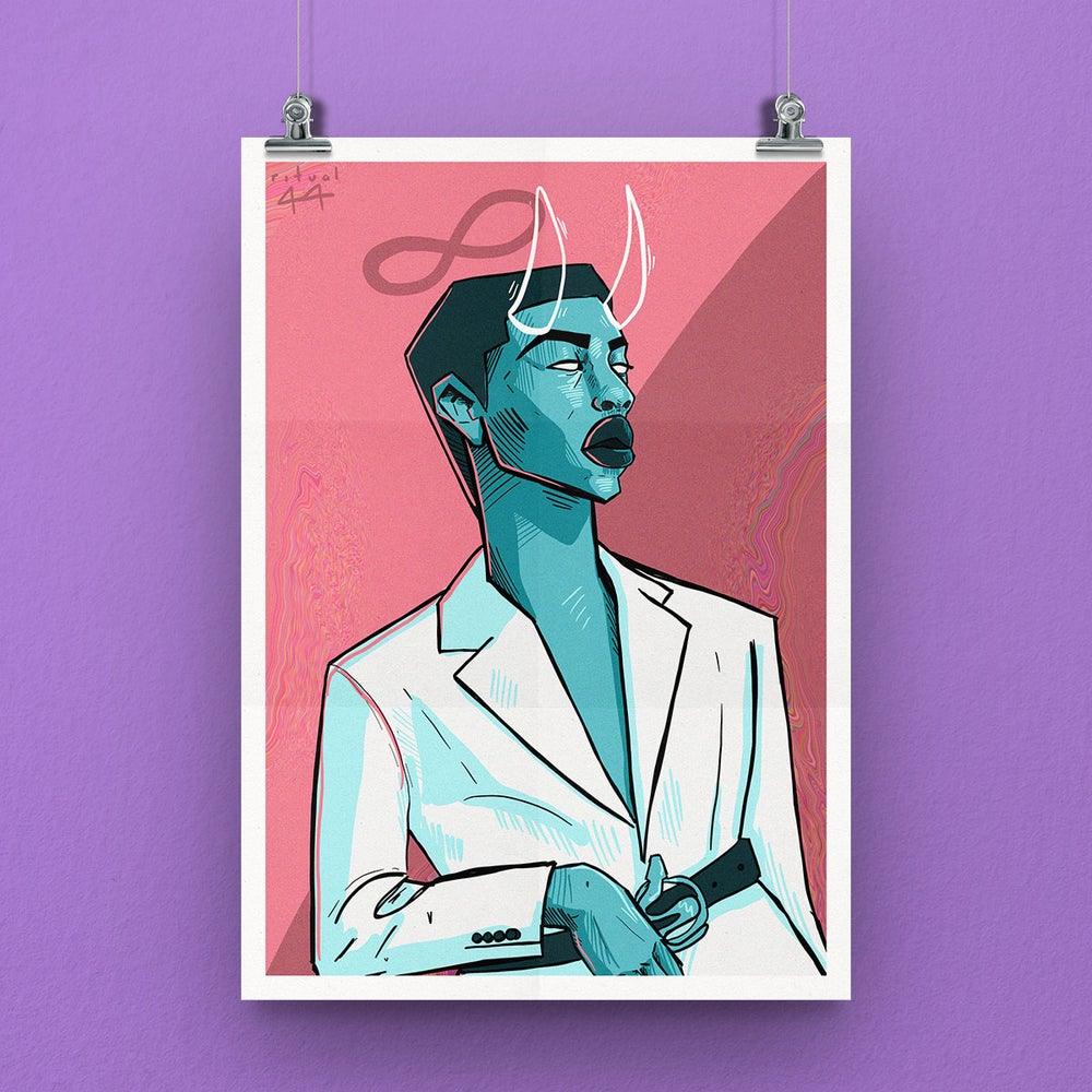 Image of The Chosen One A3 Print