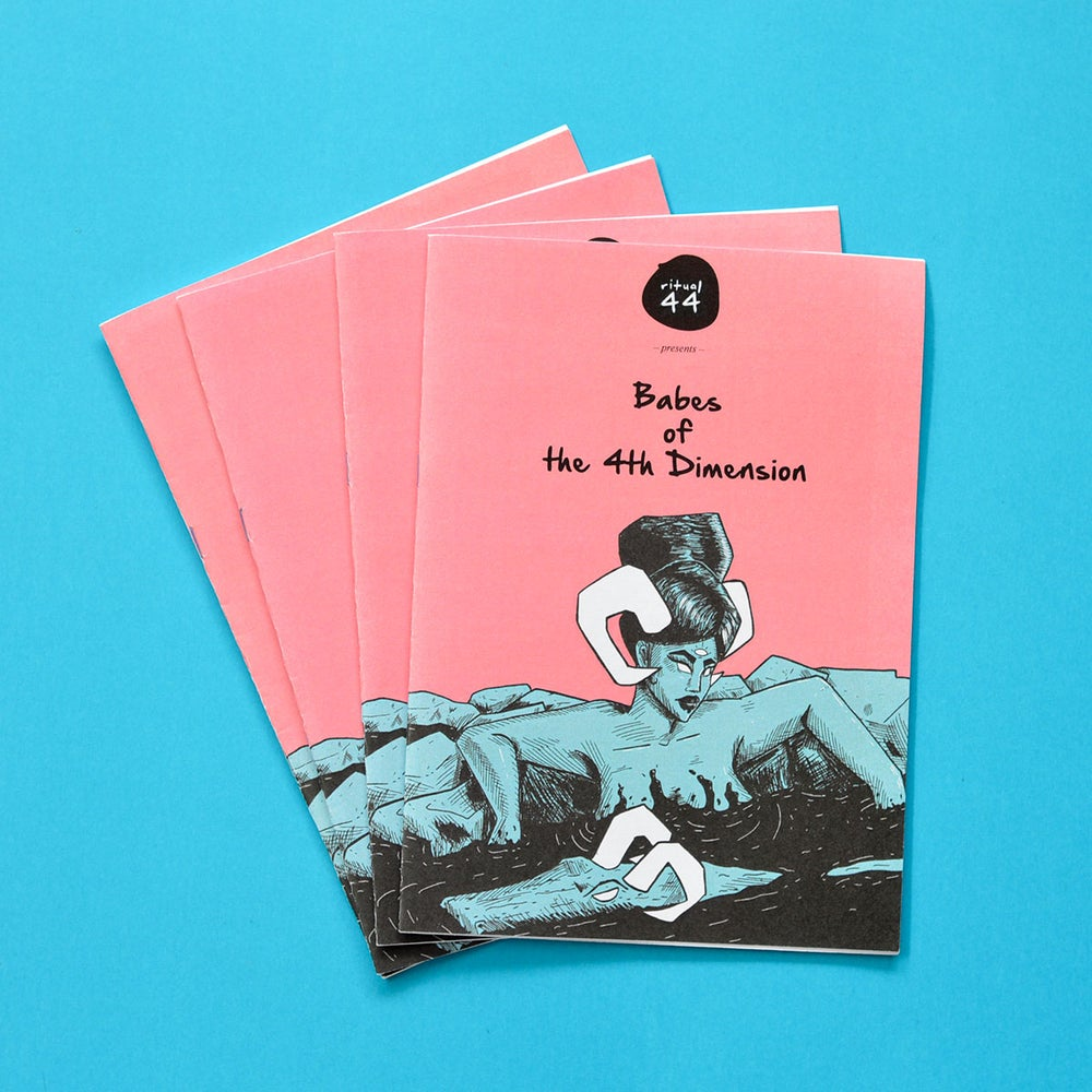 Image of Babes of the 4th Dimension Zine
