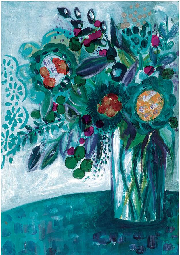 "Image of ""Green Vase"" Print"